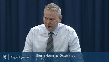 Utvalget har vært ledet av jurist Bjørn Henning Østenstad.